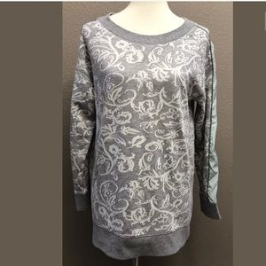 Soft Surroundings Pullover Tunic Sweatshirt Top